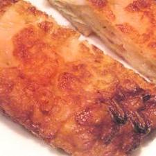 キムチとチーズのチヂミ