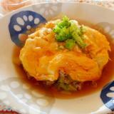 ブロッコリーの天津飯