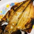 生姜とバターで(*^^*)鯵の干物焼き★