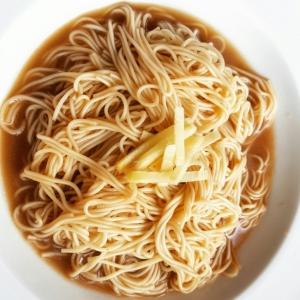お肉の旨味たっぷりリメイクレシピ☆そうめんの煮付け