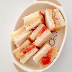 ポテトとトマトのサンドイッチ☆離乳食