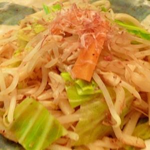 野菜たっぷりノンオイル☆ダイエット焼きうどん(風)