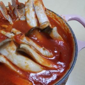 【洋風煮込み】ワタリガニのトマト煮込み
