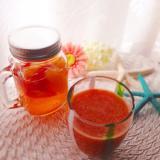 フルーツ酢②トマトとオレンジでスムージー