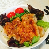 簡単おいしい鶏肉のマスタード焼き