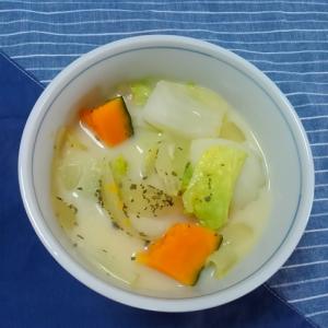 ほっこり カボチャと白菜のミルク煮