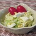 隠し味に昆布茶を☆千切りキャベツと卵のサラダ