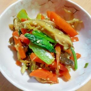 醤油麹を使って、野菜のナムル!