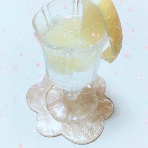 レモンとオリゴ糖の美人ソーダ