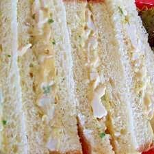 おでんの残った卵でサンドイッチ