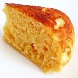 炊飯器とホットケーキミックスで お豆腐ケーキ