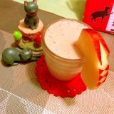 林檎とバナナのアールグレイ豆乳スムージー