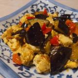 なすと豆腐の炒め煮
