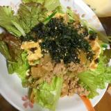 ひき肉で韓国サラダ