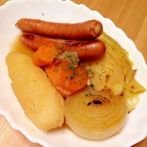〜ウインナーとごろごろ野菜のポトフ〜