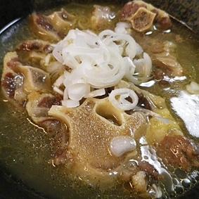 肉ばっかりオックステールスープ