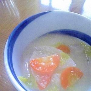 ☆根菜のかす汁☆