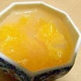甘夏ミカンのフルーツ寒天