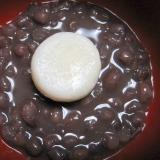 小豆の缶詰で簡単ぜんざい