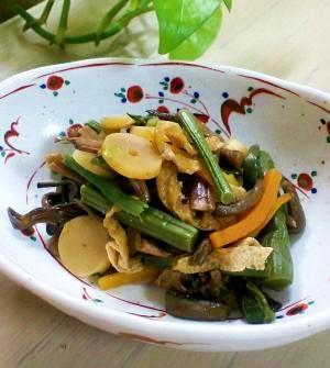 ローカロリー常備菜。春に向けて…山菜の煮物
