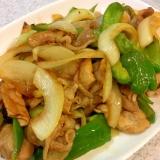 簡単!さっぱり!豚と野菜の生姜炒め