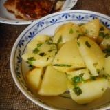 ジャガ芋のシソ炒め