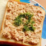 5分!?男の手料理❤ツナマヨ辛子サンドイッチ♪