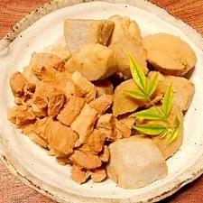 里芋・親芋と豚肉☆煮物