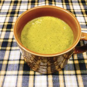 ミキサー使用!余った生クリーム入りのかぼちゃスープ