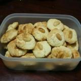 卵、バター不使用! 豆乳ピーナッツクッキー