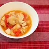簡単♪野菜で栄養満点 イタリアンチキンスープ