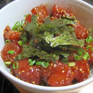韓国風マグロ丼