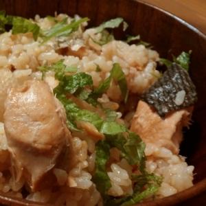 簡単♪秋鮭だけの炊き込みご飯