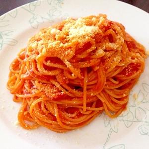 シンプルな贅沢!トマトソースパスタ
