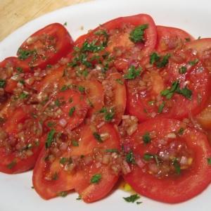 トマトのサラダ★エシャロットドレッシング