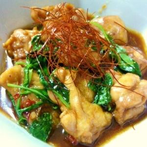 台湾の味☆バジルたっぷり三杯鶏
