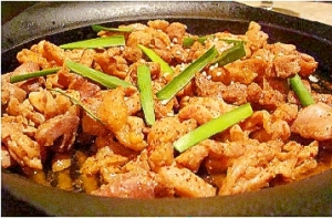 鶏ちゃんの鉄板焼き(よか魚ドットコム)