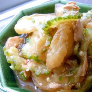 簡単!夏野菜・春雨・ツナのオイスターソース炒め煮