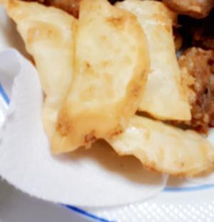 チーズ揚げ餃子