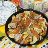 夏野菜たっぷり 焼きラタトゥイユ