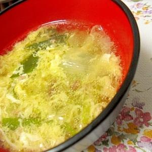 キャベツの中華スープ