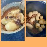 電気圧力鍋で◎里芋のあんかけ煮