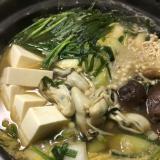 冬の定番☆牡蠣鍋