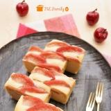 簡単*りんごのチーズケーキ