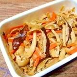 椎茸とシメジ☆コンニャク煮