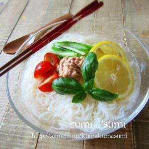 簡単エスニック♥冷やしぶっかけ素麺