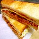 タイのシーチキンは超辛かった…サンド!