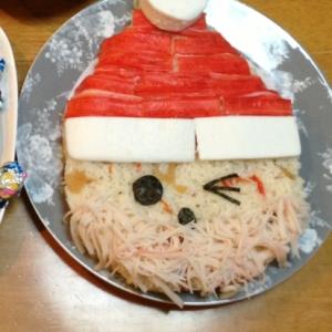 クリスマスに!ちらし寿司でサンタ★