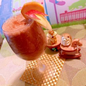 シナモン薫る林檎とバナナのエスプレッソスムージー