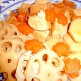 里芋とれんこんの吹き寄せ煮